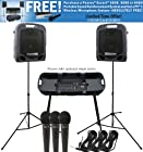Peavey Escort 3000 Portable Pro Audio System 150Watts x 2, 7 Channels EQ FX w/ 3 Mics and XLR Cables *WITH REBATE OFFER*