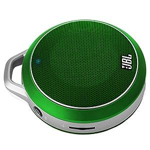 JBL Micro wireless ultraportabler Mini Bluetooth Lautsprecher (80dB, 3,5mm Klinkenstecker) grün