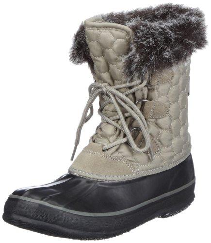 Kamik Women's Snowfling2 Snow Boot,Grey,6 M US