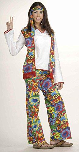[Forum Novelties 53225 Hippie Dippie Woman Adult Costume] (Hippie Dippie Adult Mens Costumes)