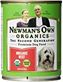 Newman's Own Organics Beef Grain-Free for Dogs, 12-Ounce Cans (Pack of 12)