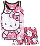 Hello Kitty Girls 2-6X Pajama Short Set
