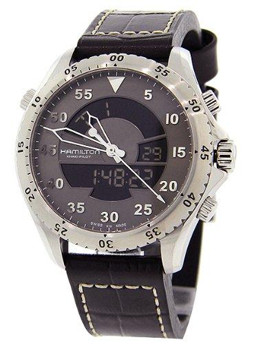 651d421b327 Compare   Hamilton Khaki Aviation Flight Timer Quartz Men s Quartz Watch  H64514581 !