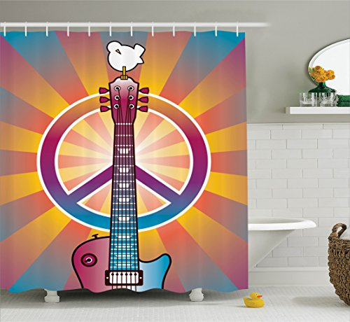 Peace Shower Curtains Shower Curtains Outlet