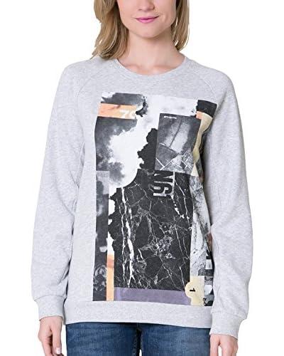 Big Star Sweatshirt  hellgrau XS