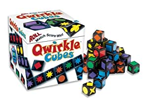MindWare - Jeu Qwirkle Cubes - Version Multilngue (Français Inclus)