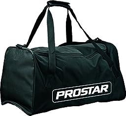 Prostar Sports Holdall Storage Duffel Junior Squad Team Kit Bag Black/white M