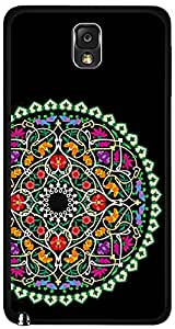 inktree Back Cover For Samsung Galaxy Note 3 (Black, Note_3_84)