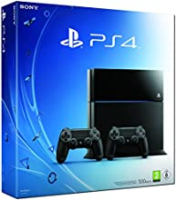 PlayStation 4 - Konsole (500GB) inkl. 2 DualShockController, CUH-1116A