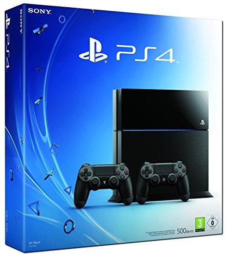 PlayStation 4 - Konsole (500GB) inkl. 2 DualShockController