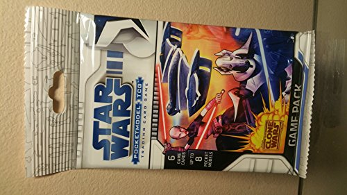 Star Wars Pocket Model TCG Game Pack (The Clone Wars)