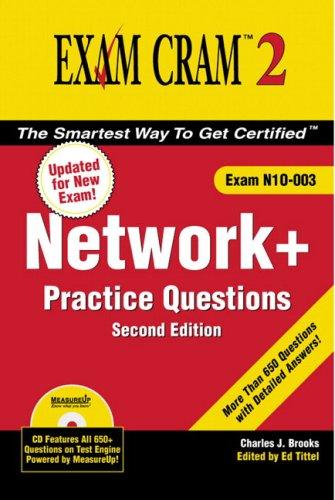 Network+ Certification Practice Questions Exam Cram 2 (Exam N10-003)