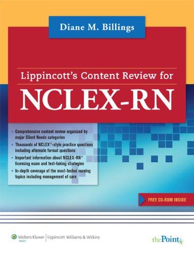 Lippincott Content Review for NCLEX-RN PDF