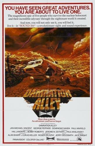 Damnation Alley Movie Poster 11 inches x 17 inches
