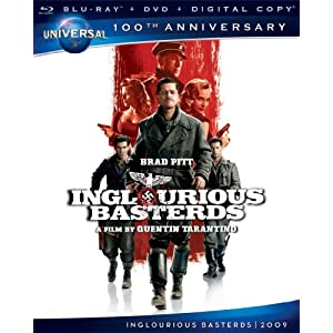 Inglourious Basterds [Blu-ray + DVD + Digital Copy] (Universal's 100th Anniversary) (2009)