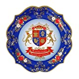 Jubilee Table Decorations, State Banquet Party Platters 29cm, Pack of 4by Lights4fun