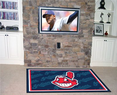 Indians 4' x 6' Area Rugs