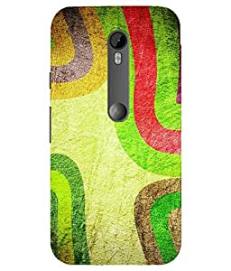 Snazzy Printed Back Cover for Moto G3 (Motorola)