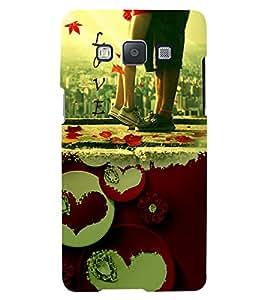PrintVisa Romantic Love Couple 3D Hard Polycarbonate Designer Back Case Cover for Samsung Galaxy A5