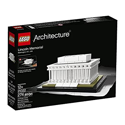 LEGO Architecture Lincoln Memorial Model Kit from LEGO