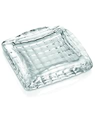 IVV Glassware Ashtray and Paper Weight, 7 by 7-Inch, Clear by IVV Glassware