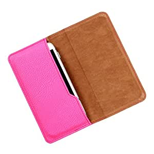 Dooda PU Leather Flip Pouch Case For Videocon Infinium Z50Q Lite