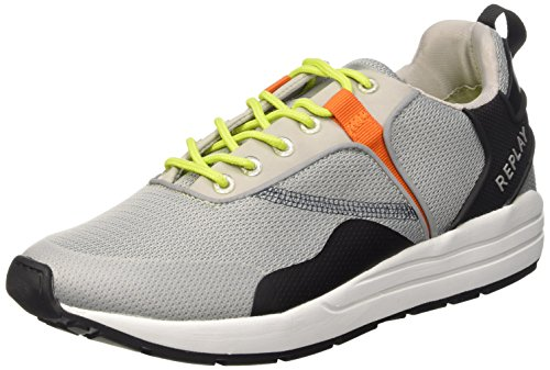 REPLAY Waine, Herren Sneakers, Grau (GREY 28), 46 EU thumbnail