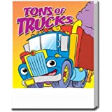 Tons of Trucks Coloring and Activity Book Trade Show Giveaway