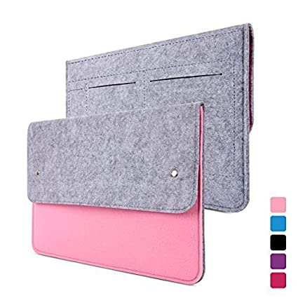 Yessbon Macbook Air and Pro 13 Case - wool felt Sleeve with splash-proof for Apple Macbook Air 13 and Macbook Pro 13 with Retina