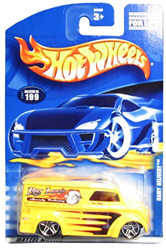 #2001-199 Dairy Delivery China Collectible Collector Car Mattel Hot Wheels - 1