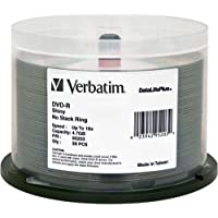 DVD-R 4.76GB 16X DataLifePlus Shiny Silver Spindle Pack Of 50 And Free 6 Feet Netcna HDMI Cable - By NETCNA