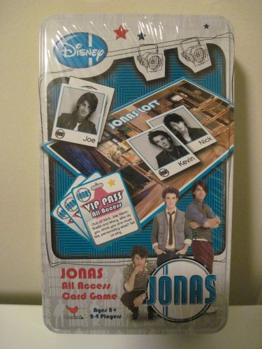 DISNEY JONAS BROTHERS ALL ACCESS CARD GAME