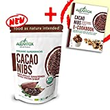Cacao Nibs Naturally Sweetened with Yacon Syrup - Zero Sugar Keto Paleo and Vegan Friendly - Criollo Raw Cocoa Chocolate Nutritional Protein Snack - USDA Organic 8oz by Alovitox (Tamaño: 8 oz)