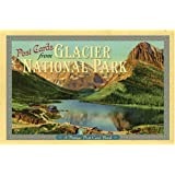 Post Cards from Glacier National Park: A Vintage Post Card Book