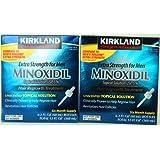 Minoxidil for Men 5% Minoxidil Hair Regrowth Treatment 12 Months Supply Unscented 1 Year ~ Kirkland Signature