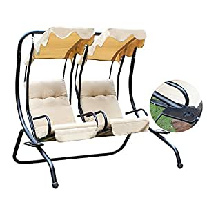 Amazon Com Joveco Canopy Awning Outdoor Porch Swings