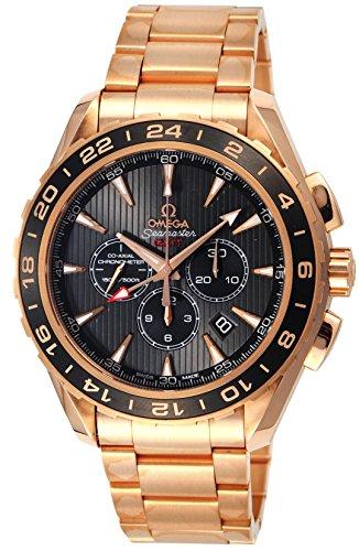 [オメガ]OMEGA 腕時計 シーマスター アクアテラ グレー文字盤 コーアクシャル自動巻 裏蓋スケルトン K18PG無垢 231.50.44.52.06.001 メンズ 【並行輸入品】