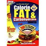 2008 Calorie King Calorie, Fat & Carbohydrate Counter ~ Allan Borushek