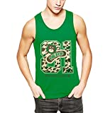 Your best choice for summer street style tank top.As different computers display colors differently,the color of the actual item may vary slightly from the above images,thanks for your understanding.