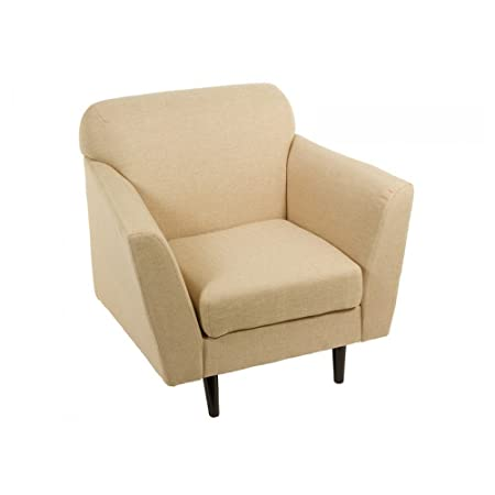 Abbey beige armchair