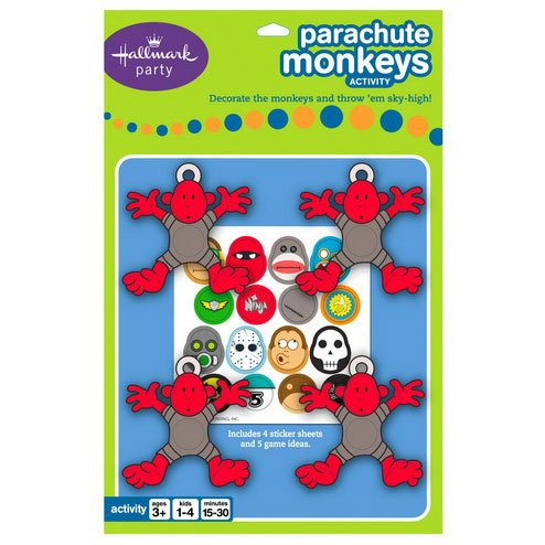 Parachute Monkeys Party Game Party Accessory