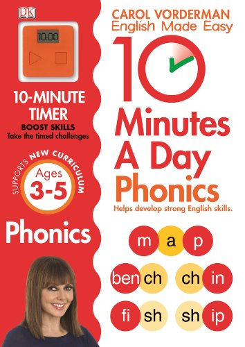 10 Minutes A Day Phonics KS1 (English Made Easy Ks1)