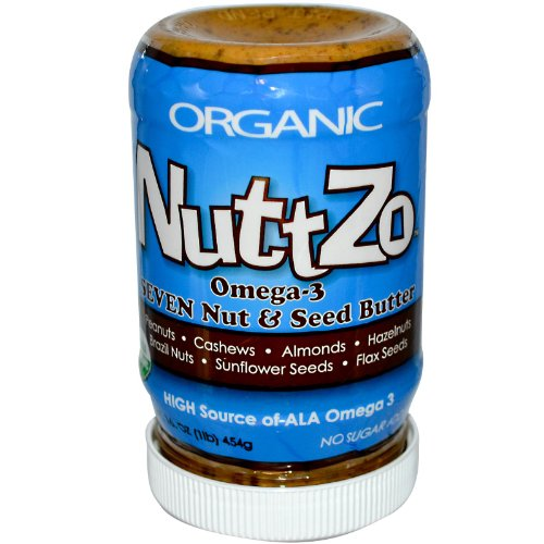 Nuttzo Omega-3 Multi-Nut Butter, 16-Ounce