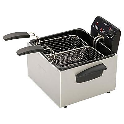 Presto 05466 Dual ProFry Immersion Element Deep Fryer