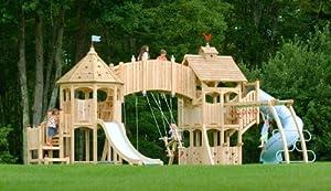 CedarWorks Serendipity 8 Swing Set