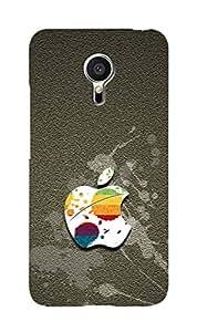 Zapcase Printed Back Case For Meizu Mx5