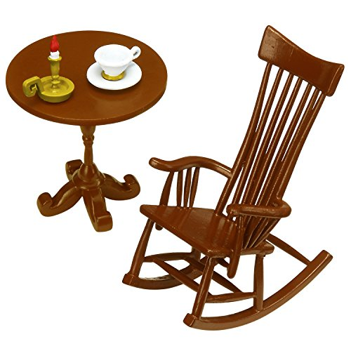 Pose skeleton accessories rocking chair set - 1