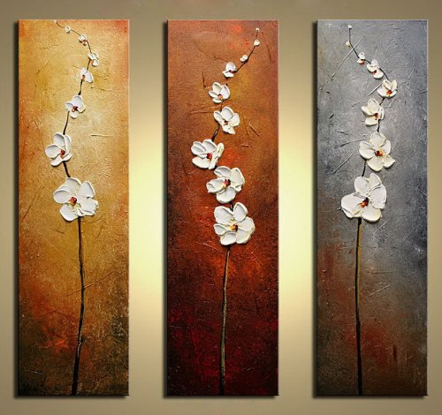 Wieco art modern 100 hand painted canvas painting art work for wall decor home decoration - Wall paintings for home decoration ...
