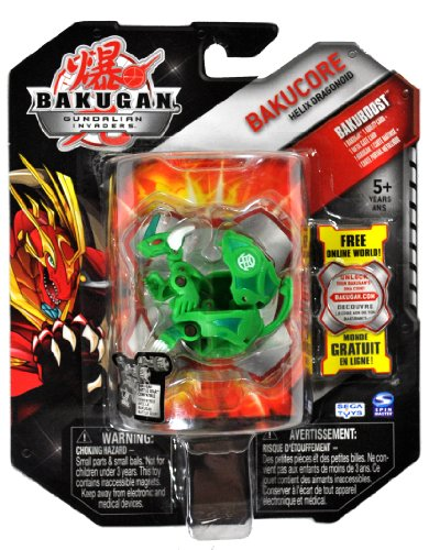 Spin Master Year 2010 Bakugan Gundalian Invaders BakuCore Series Bakuboost Si... - 1