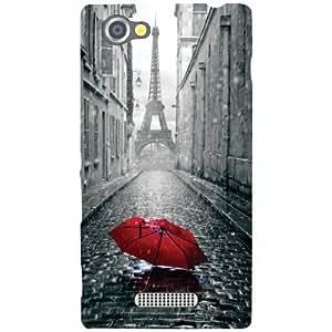 Sony Xperia M Back Cover - Umbrella Designer Cases